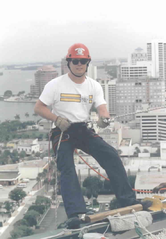 Captain John Stevenson sits back over 25 stories